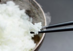 白米、糖質制限